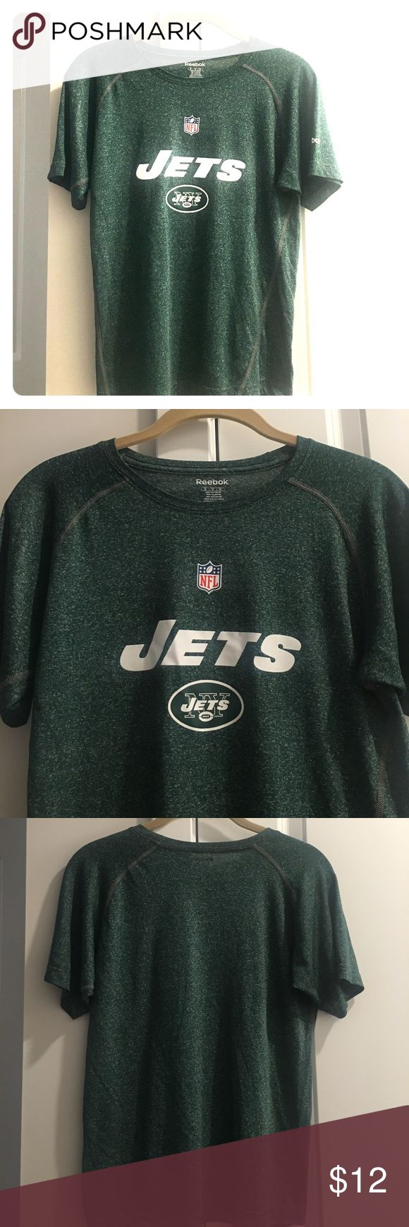 🔽 Sale, Youth, NFL NY JETS Reebok T-shirt Gently used, youth, Medium, NFL NY JETS Reebok T-shirt. 100% Polyester Reebok Shirts & Tops Tees - Short Sleeve
