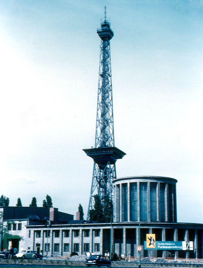Berlin - Funkturm - 1963