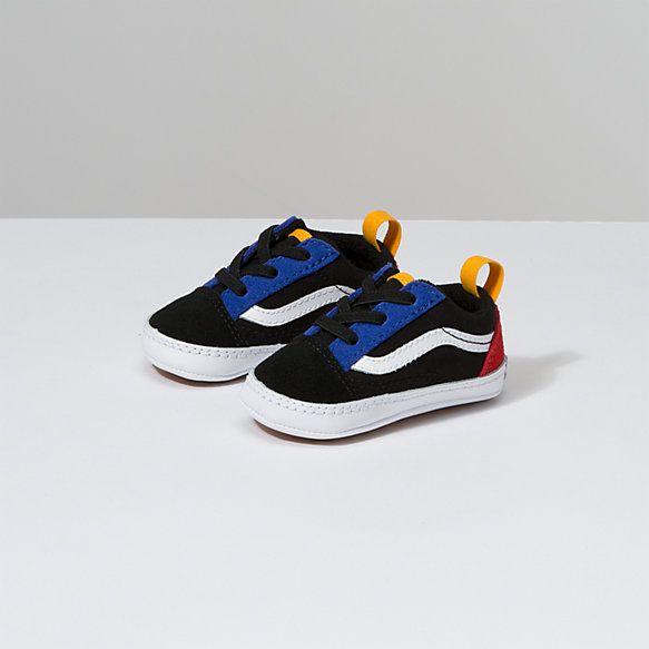 Infant Old Skool Crib Shop Toddler Shoes At Vans In 2021 Vans Toddler Shoes Baby Shoes