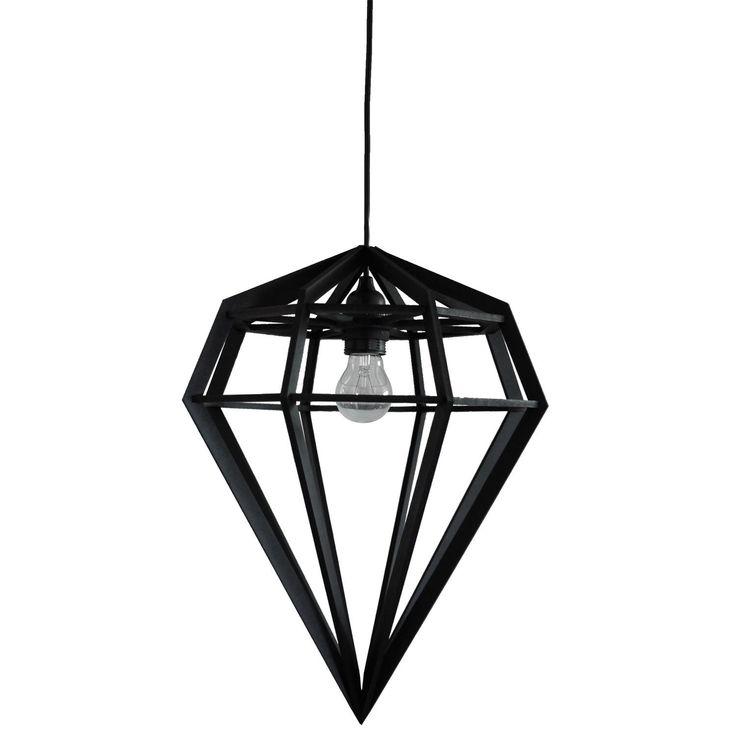 Döden lampa L, svart – Tvåfota Design – Köp online på Rum21.se