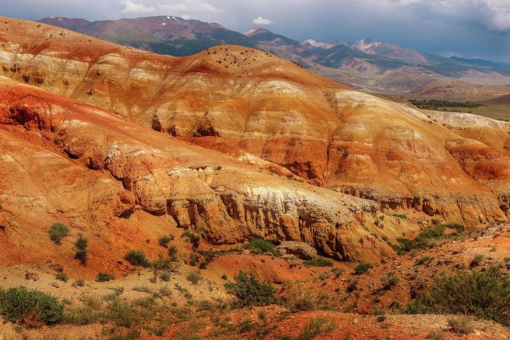 Multicolored Mountains Of Kyzyl-chin 2. Altai by Victor Kovchin