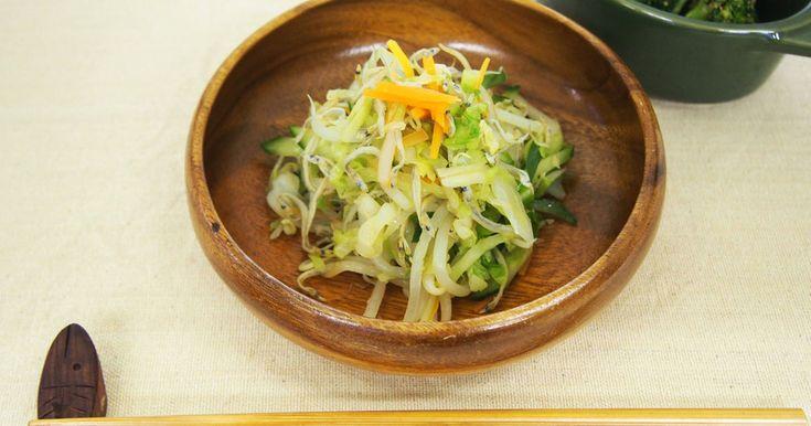 こうなごサラダ☆給食で人気☆ by 草加市保健センター [クックパッド] 簡単おいしいみんなのレシピが269万品