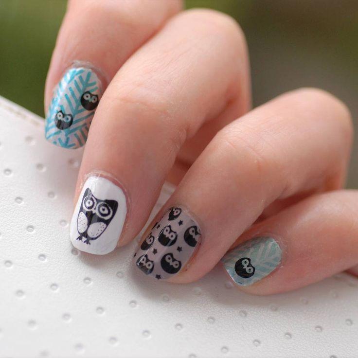 いいね!0件、コメント1件 ― すくりさん(@sucuri.n)のInstagramアカウント: 「#nail #nails #nailart #naildesign #nailpolish #shortnails #stampingnails #owl #coruja #セルフネイル…」