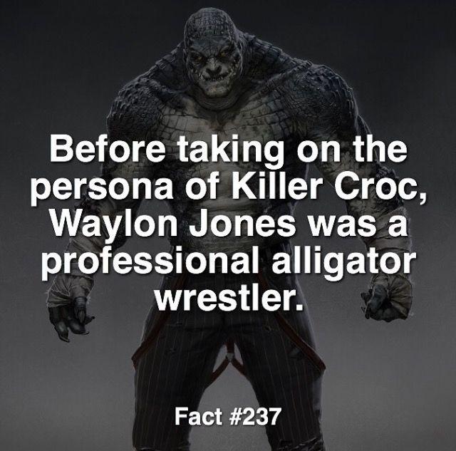 Killer Croc fact #237