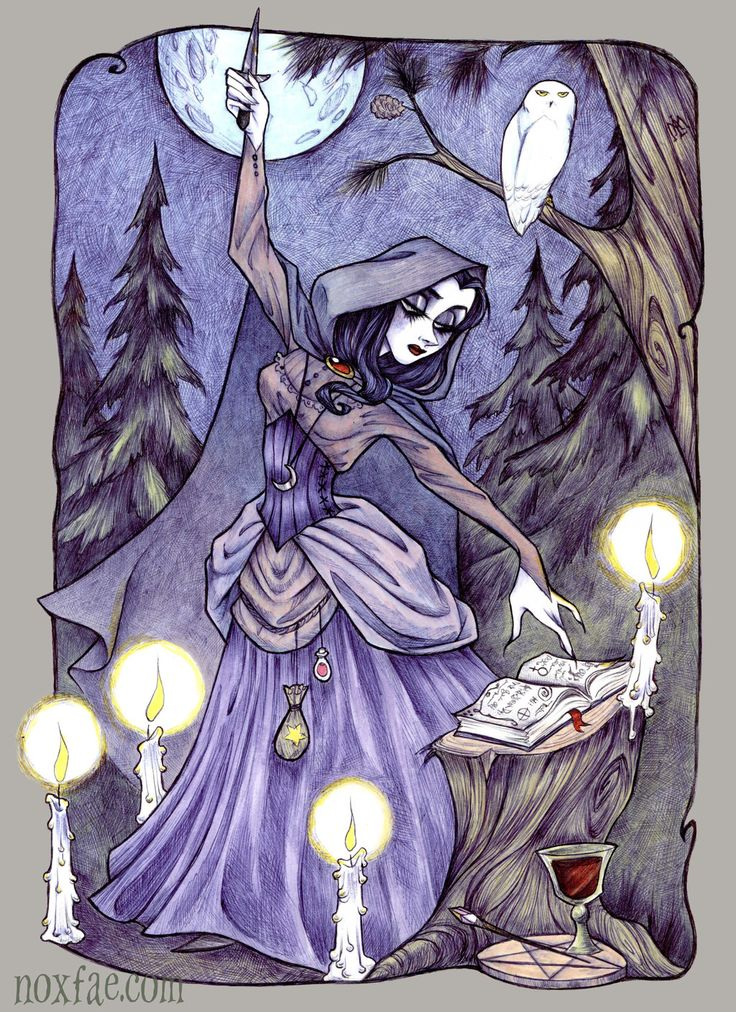 The Novice (Drawing Down the Moon) by Maryanneleslie.deviantart.com on @DeviantArt