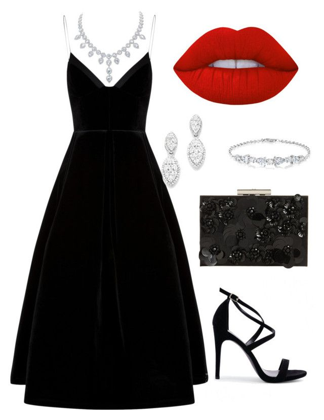 """""""etiqueta rigurosa m5"""" by laura-itzeel-pnaran on Polyvore featuring moda, New Look, Bloomingdale's, Phase Eight y Lime Crime"""