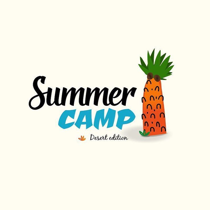 New Summer Camp Free Logo - PSD and Vector source files Download available.  grab it for free on www.logoinstant.com #free #logodesign #freebie