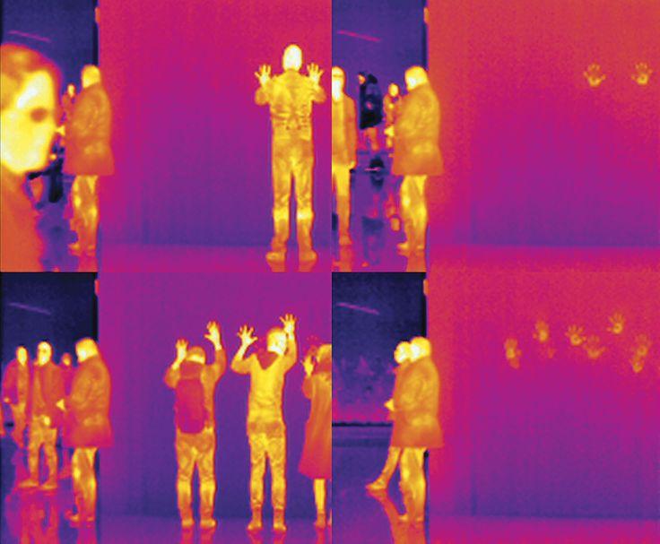 Read the article here: http://www.glendacinquegrana.com/it/2015/07/interwiew-stefano-cagol-glenda-cinquegrana/  Stefano Cagol, The Body of Energy (of the mind): Museum Folkwang, 2015, infrared Museum Folkwang, 30-31 gennaio 2015 © Stefano Cagol