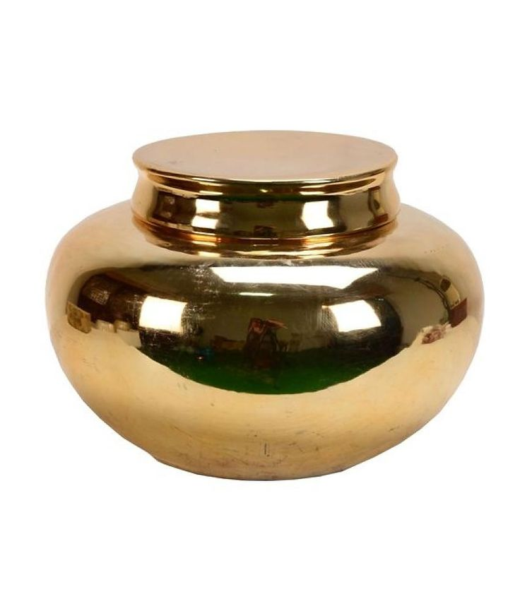Van Roon Living jar aurora 32.5x32.5x22 cm gold