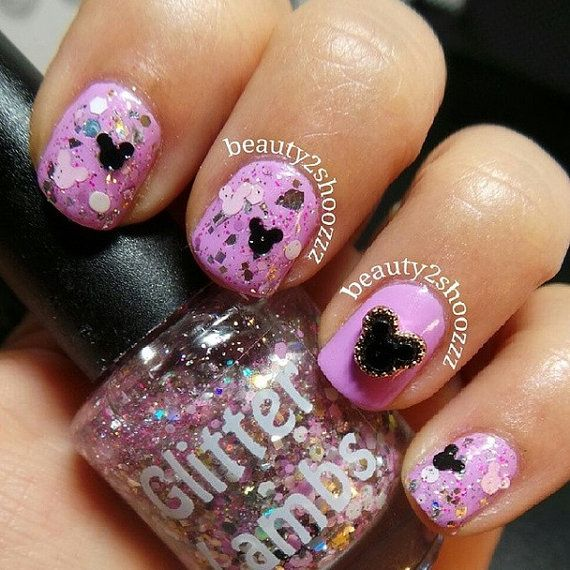 Mejores 48 imágenes de mickey mouse nails en Pinterest | Arte de ...