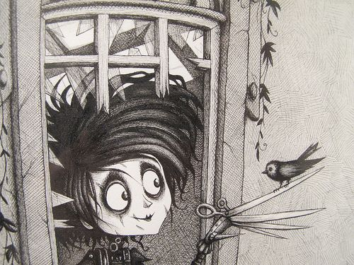 love innocent and rejection in the comic film edward scissorhands The film edward scissorhands essay  his biggest battle throughout the film [tags: love, social rejection, ideals]  the film is of an innocent and confused.