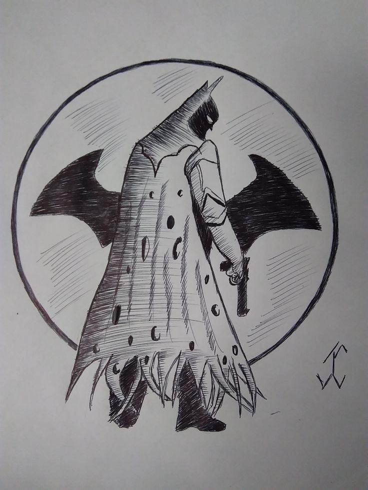 ComicBatman02 #batman #comic #drawing #draw #pen #art #comicdc #movie #brunodiaz #justiceligue