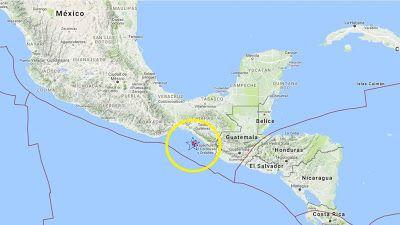 Terremoto en México: Al menos 35 muertos en un potente terremoto de magnitud 8,2