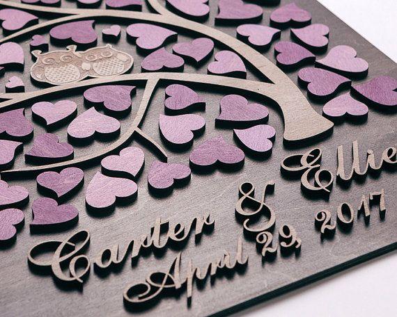Hochzeit Gast Buch Alternative Hochzeit 3D Gast Buch von Wedding3D
