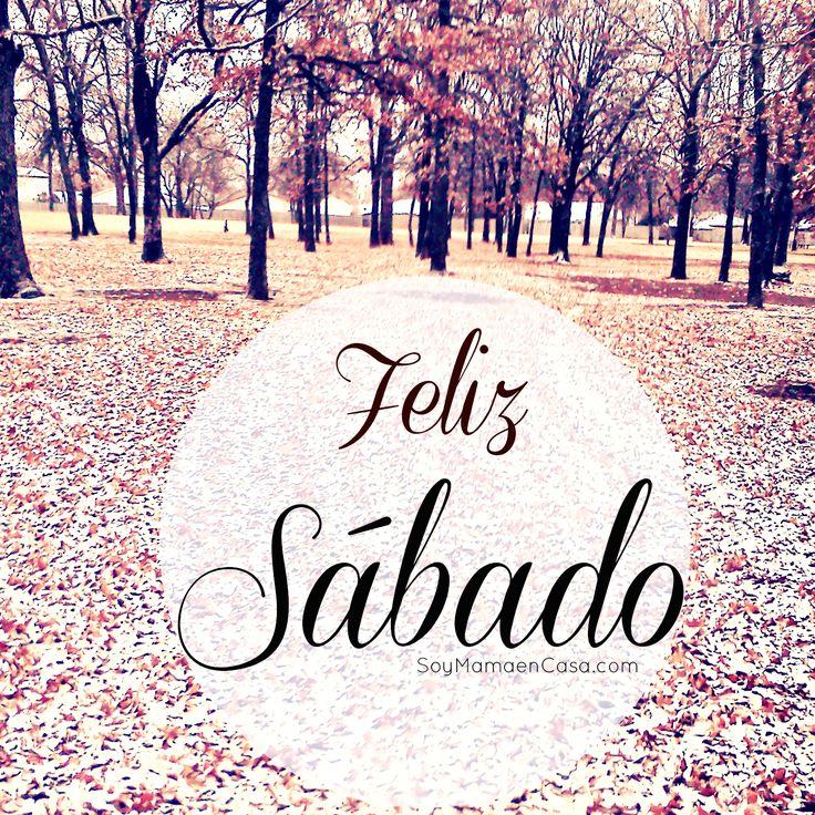 Hojas secas y nieve, feliz #Sábado #Saturday  http://soymamaencasa.com