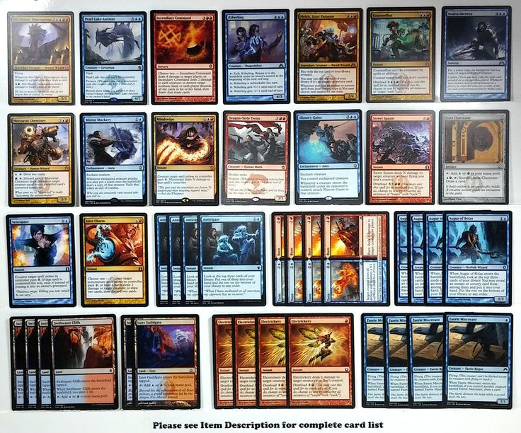 how to make a control deck mtg