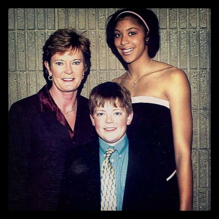 Pat and Tyler Summitt with Candance Parker