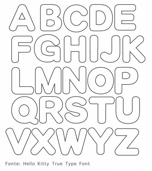 Alfabet letters om voor verschillende dingen te kunnen gebruiken.