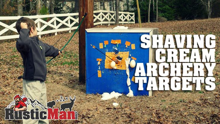 How to Help Your Kids Love Archery - Shaving Cream Balloon Targets!