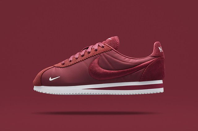 """Nike Cortez Classic """"Textile Pack"""" Team Red"""