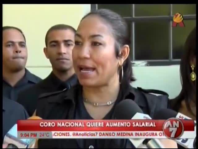 El Coro Nacional Dominicano Busca Aumento Salarial #Video