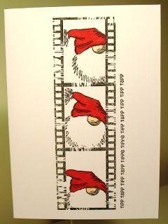 Gummiapan : Julkort / Christmas cards