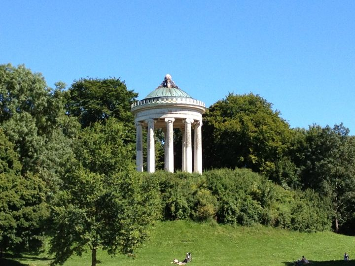 Superb Englischer Garten in Munich largest park on the continent laid out by an American