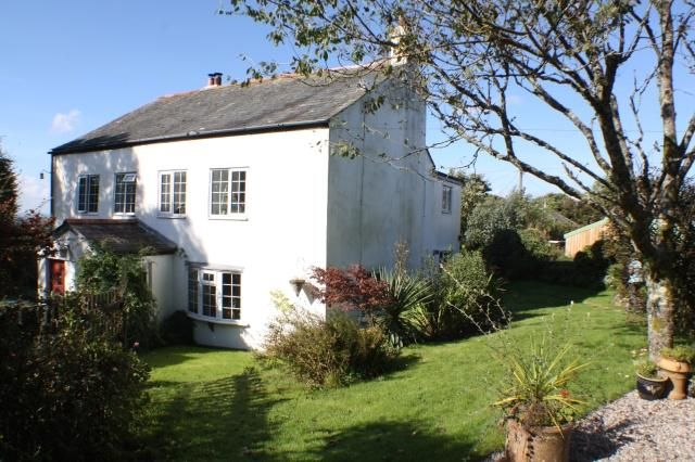 Semi-detached house for sale in Camelford