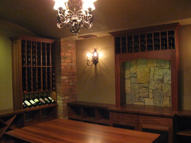 A custom wine cellar from Kessick & 81 best Wine Cellars - Kessick Wine Cellars images on Pinterest ...