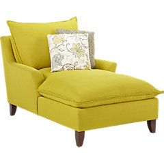 picture of Sofia Vergara Catalina Chartreuse Chaise  from Chaises Furniture