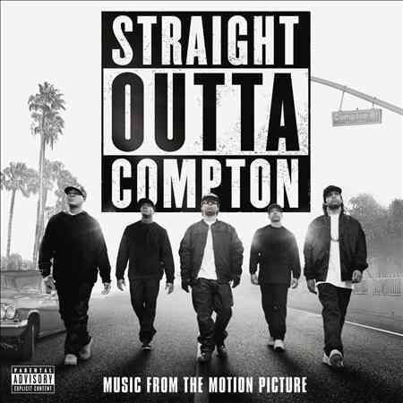 After its theatrical run helped propel the group's debut album up the charts, the home video release of the N.W.A. biopic Straight Outta Compton coincided with the (late) release of this soundtrack. H