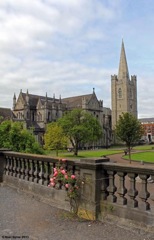 St Patricks Cathedral by Noel Byrne Dublin, Ireland