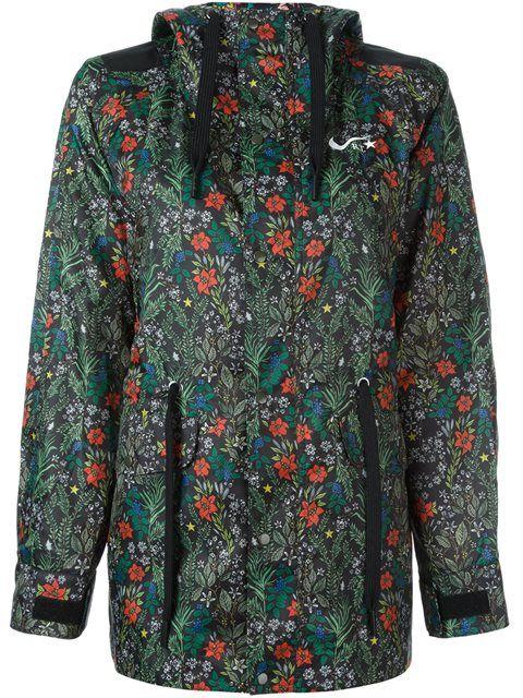 Nike куртка NikeLab x RT с цветочным принтом