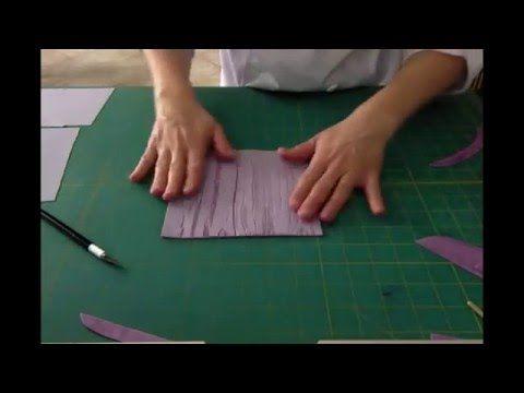 Fondant crackled wood effect tutorial