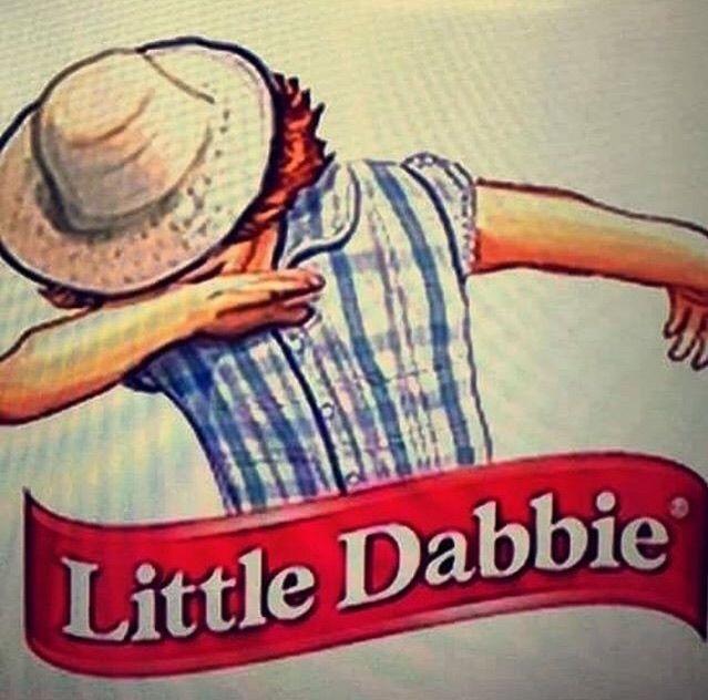 Little Dabbie Or Little Debbie. #Dab #Memes #Puns #PopCulture