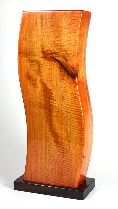 Interrupted, 2012. Figured maple, rosewood