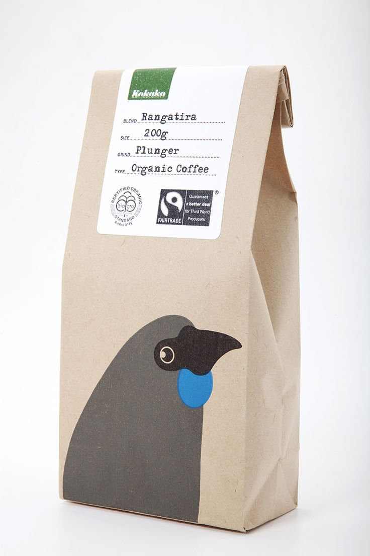 COFFEE - Kokako 100% Fairtrade Commitment - coffee Find a foodstore More info: www.kokako.co.nz