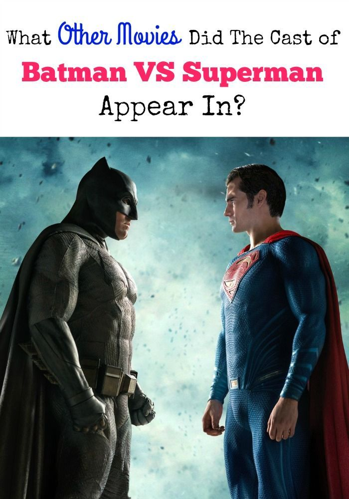 The Cast of Batman VS Superman: Dawn Of Justice is packed full of A-list movie stars. Watch more movies? See these other great films they headlined!