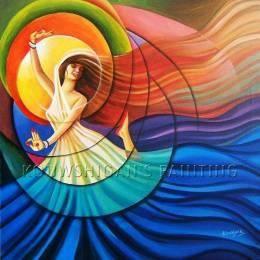 """"" JOYFUL """" #Creative #Art in #painting @Touchtalent http://bit.ly/Touchtalent-p"
