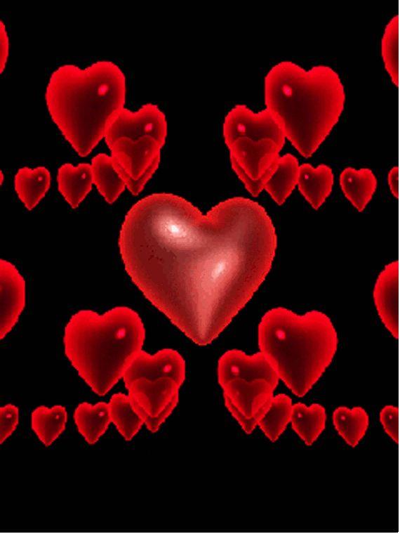 Картинки анимации с сердцем