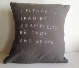 Inspirational Quote Pillow Case - Handmade Pillow Cover on Etsy, $45.00