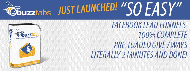 Lead Generation and Social Media Done For You BuzzTabs is LIVE!