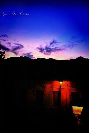 Mystical Sunset ~ Baia Mare, Romania