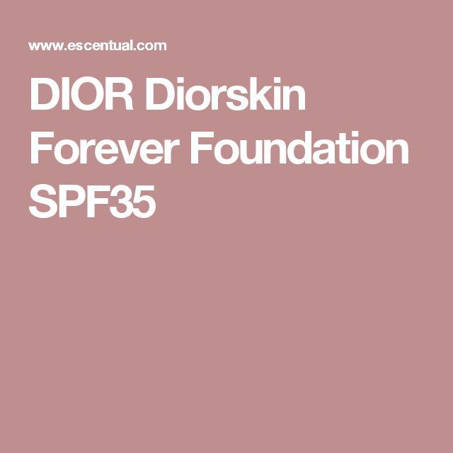 DIOR Diorskin Forever Foundation SPF35