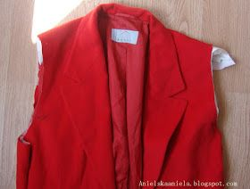 How to  resize a jacket so it is a smaller fit