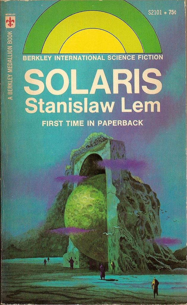 Solaris is a 1961 Polish science fiction novel by Stanisław Lem. The book is about the ultimate inadequacy of communication between human and non-human species, an exploration of man's anthropomorphic limitations.
