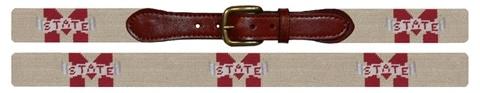 mississippi state needlepoint belt $165