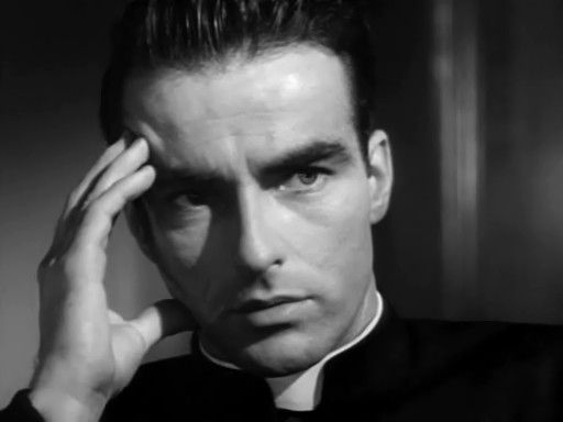Montgomery Clift in I Confess - Alfred Hitchcock — Wikipédia