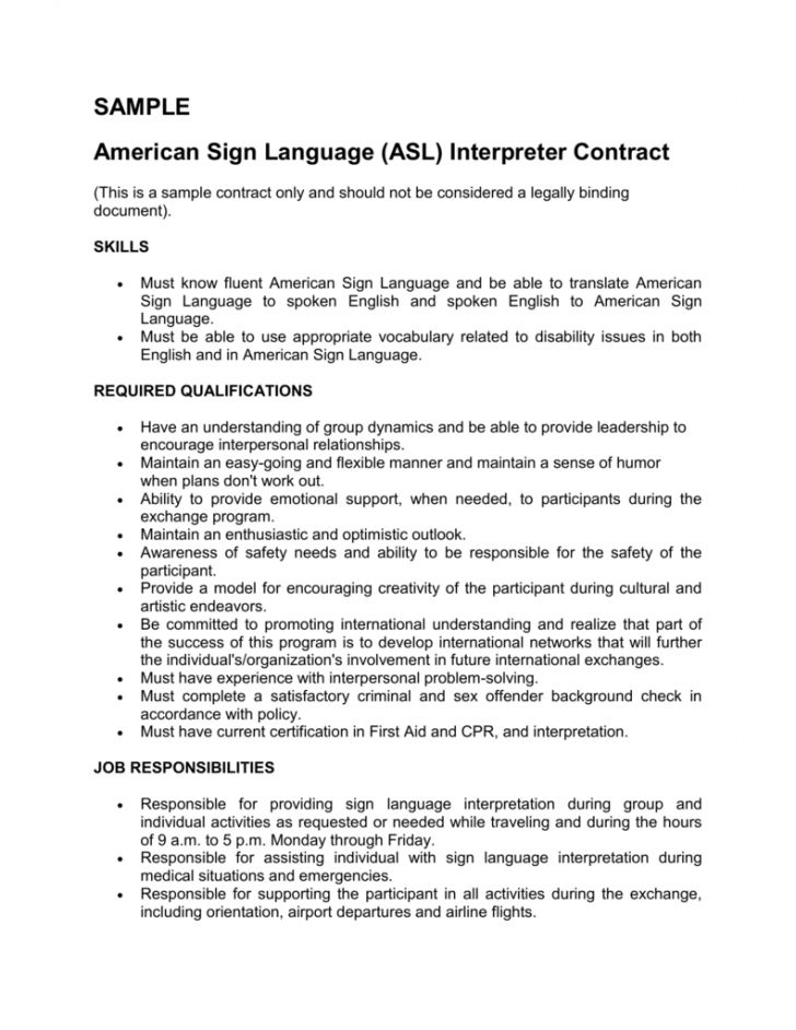 Explore Our Example Of Sign Language Interpreter Invoice Template Invoice Template Sign Language Interpreter Statement Template