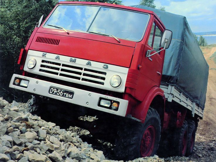 КамАЗ 43105 '1981–89